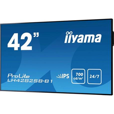 "Moniteur 43"" IPS Led Full HD HP VGA/DVI/HDMI"